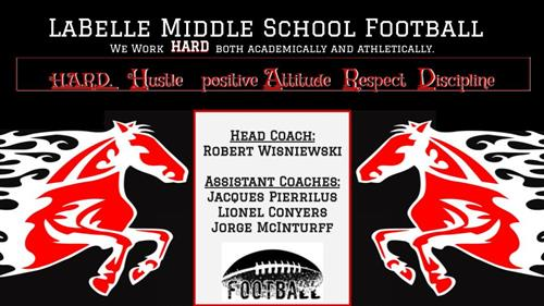 LaBelle Middle School Football