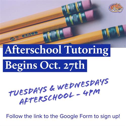Afterschool Tutoring