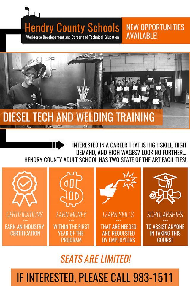 Diesel Tech & Welding Training