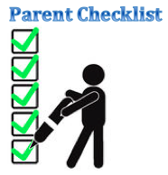 Parent Checklist