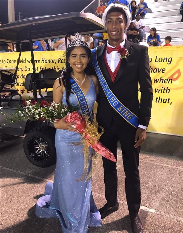 2019 HOCO Queen and King