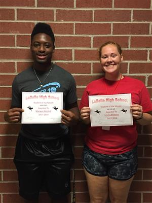 Aug 2017 Students of the Month