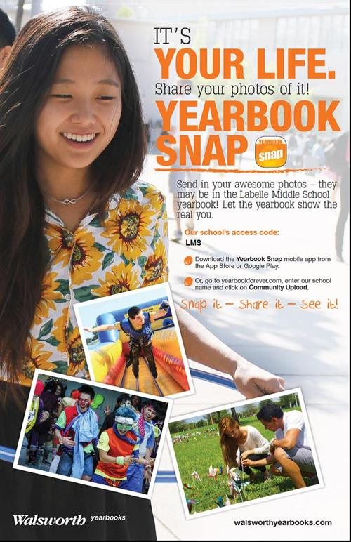 Yearbook Snap Information