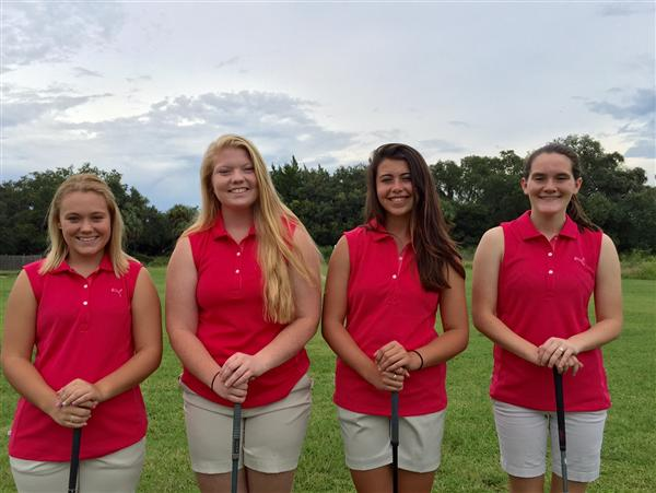 2015-16 Girls Golf Team