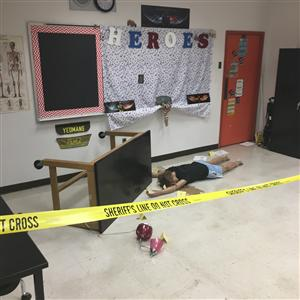 Crime Scene for Class